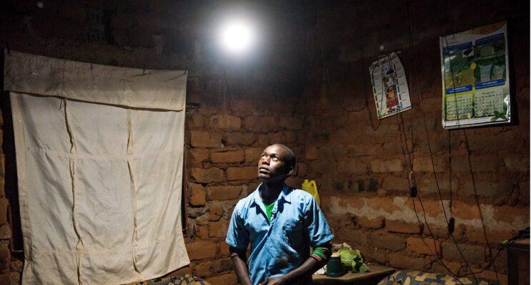 Solar lamps Kenya